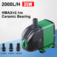 2000Lt per hour Water Pump for Hydroponics, Aquarium, Water Feature or Fountain